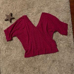 TOPSHOP crop lightweight sweater